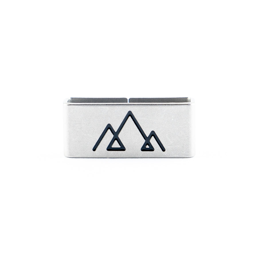 Our Mountains Collectible Tag is a symbol of High Achiever, Awakened, Elevated Thinker.