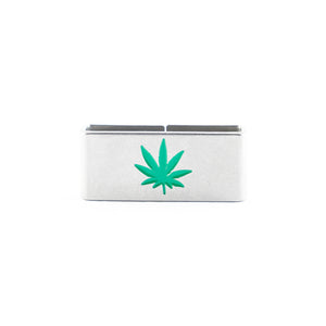 Our Weed Leaf Collectible Tag is a symbol of personal liberties, the belief in a better day, the hope of a brighter world.