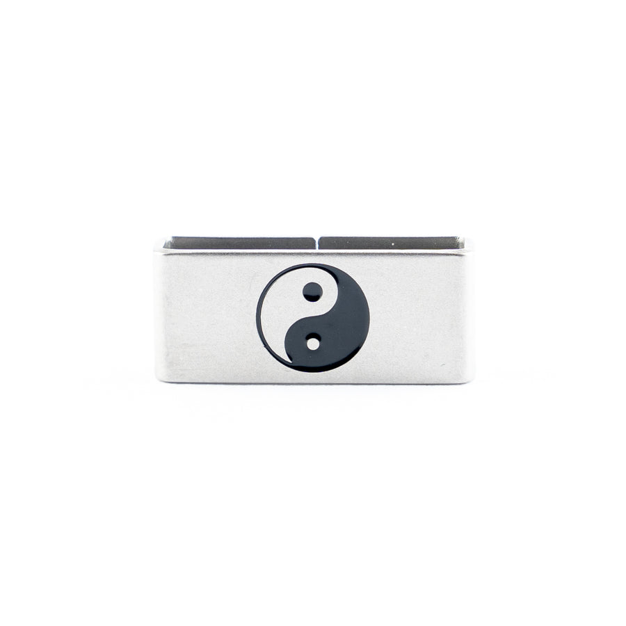 Our Yin Yang Collectible Tag is a symbol of Interdependence, Relativity, Balance.