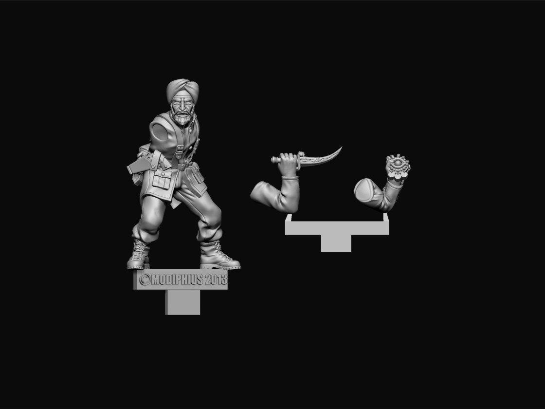 Achtung! Cthulhu Miniatures - Allied Investigators Pack 2