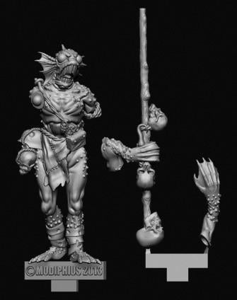 Achtung! Cthulhu Miniatures - Deep One Elder