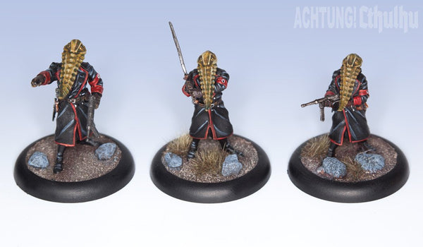 Achtung! Cthulhu Miniatures - Servitor Overlords of Nyarlathotep