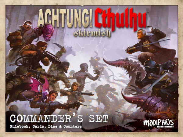 Achtung! Cthulhu Skirmish: Commander's Set