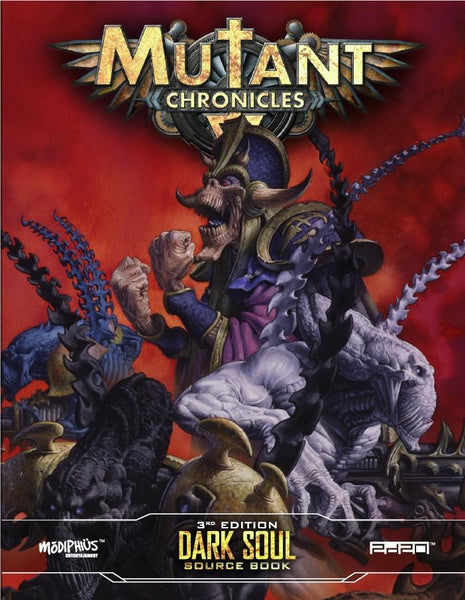 Mutant Chronicles: Dark Soul Sourcebook