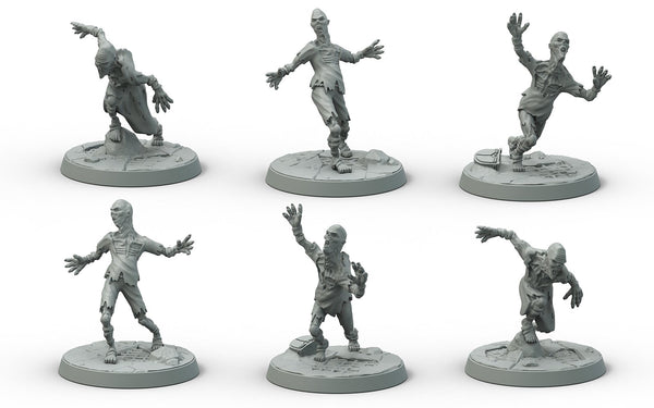 Fallout: Wasteland Warfare - Wasteland Creatures: Feral Ghouls