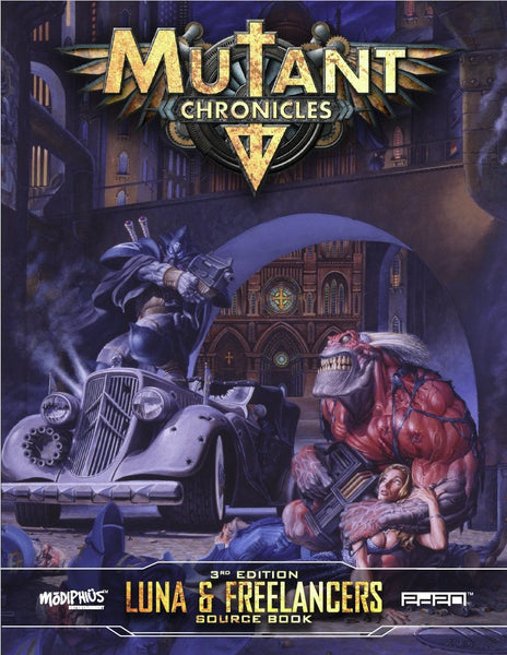 Mutant Chronicles: Luna & Freelancers Sourcebook