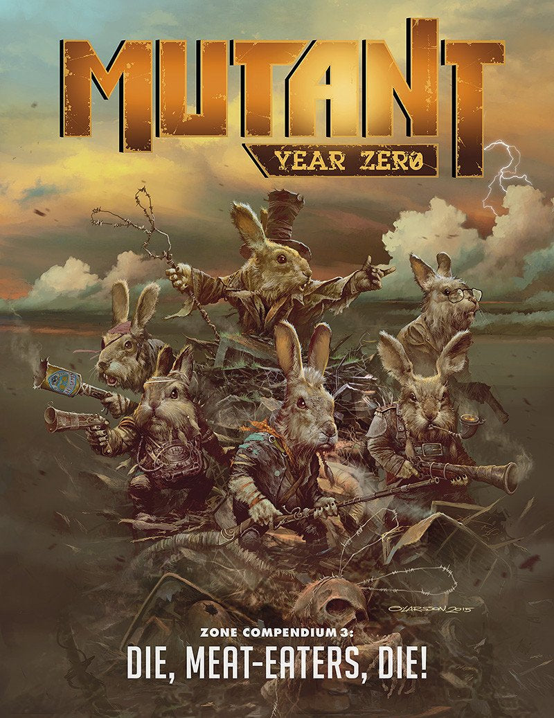 Mutant: Year Zero Zone Compendium 3: Die, Meat-Eater, Die!