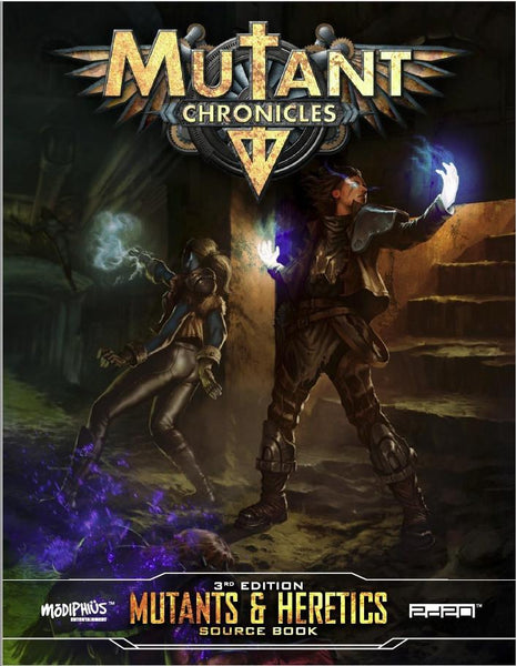 Mutant Chronicles: Mutants & Heretics Sourcebook