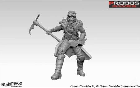 Mutant Chronicles Miniatures: Whitestar Set