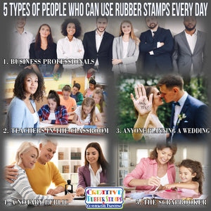 5 Types of People Who Can Use Rubber Stamps Every Day