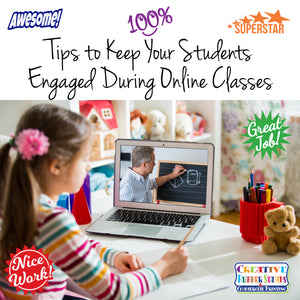 Tips to Keep Your Students Engaged During Online Classes