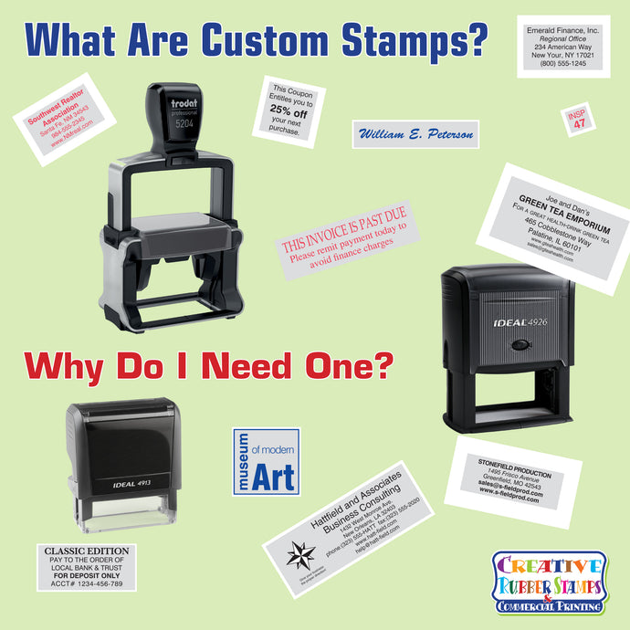 What Are Custom Stamps and Why Do I Need One?
