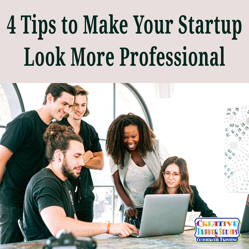 Four tips to make your startup look more professional