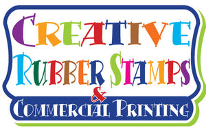 Creative Rubber Stamps Logo