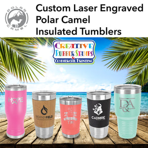 Custom Engraved Polar Camel Insulated Tumblers