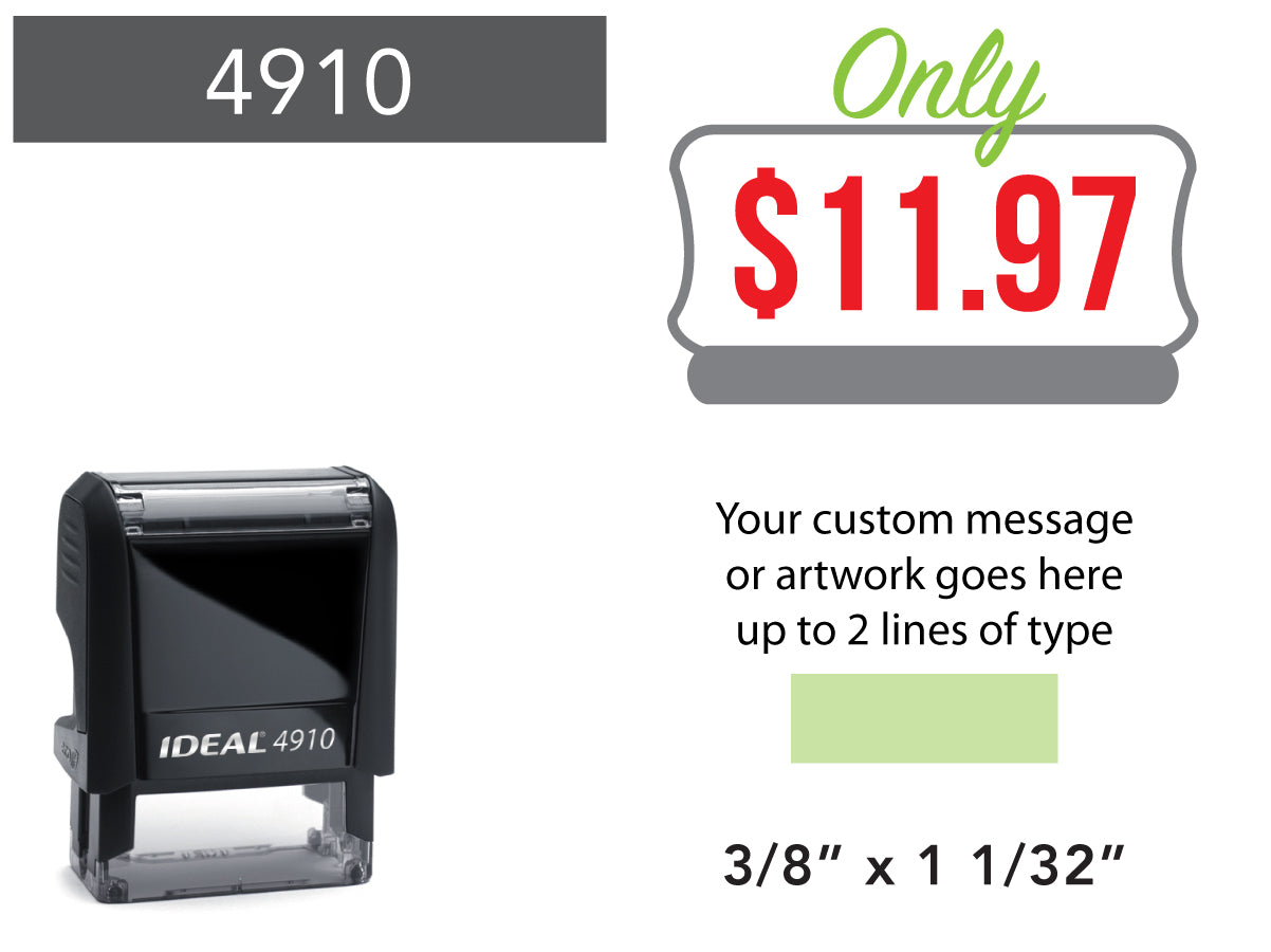 4910 Custom Stamps