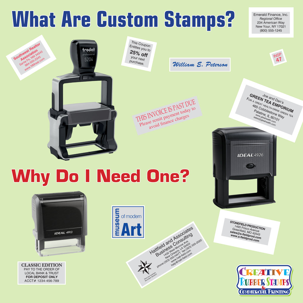 What are Custom Stamps? Why do I need one?