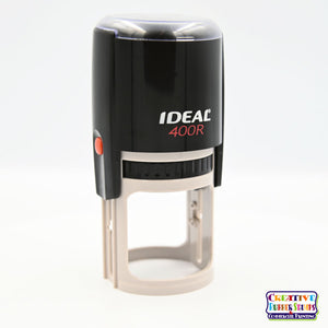 Ideal 400R Self-Inking Rubber Stamp