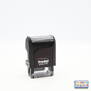 Ideal/Trodat 4910 Custom Self-Inking Rubber Stamp