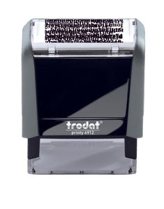 Trodat SECURITY Ideal 4912 Custom Self-Inking Rubber Stamp