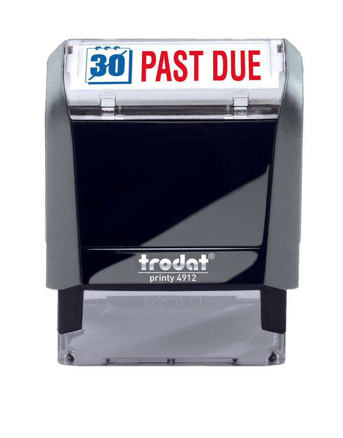 Trodat PAST DUE Self-inking Stamp