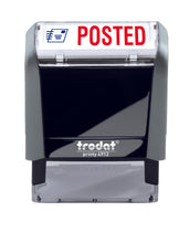Trodat POSTED Ideal 4912 Custom Self-Inking Rubber Stamp