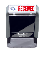 Trodat RECEIVED Ideal 4912 Custom Self-Inking Rubber Stamp