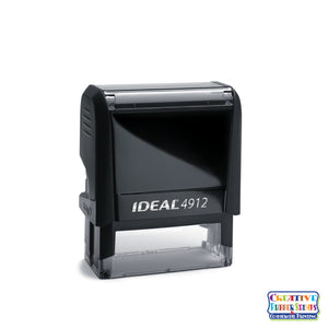 Ideal 4912 Custom Self-Inking Rubber Stamp