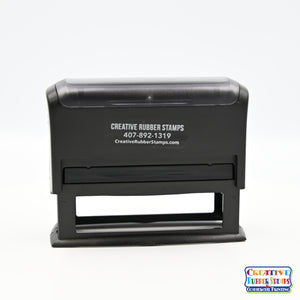 Ideal/Trodat 4918 Custom Self-Inking Rubber Stamp