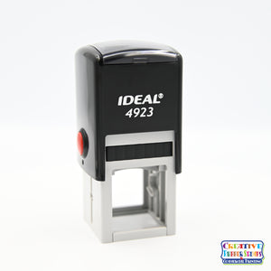 Ideal/Trodat 4923 Custom Self-Inking Rubber Stamp
