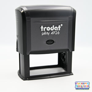 Ideal/Trodat 4926 Self-Inking Rubber Stamp