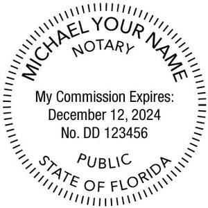 Florida Notary Public Ideal 400R