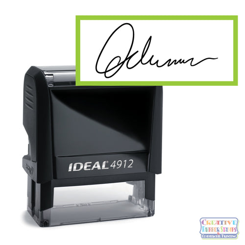 Signature Stamp Ideal Trodat Printy 4912