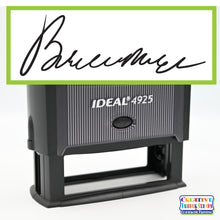 Ideal 4925 Custom Self-Inking Rubber Stamp