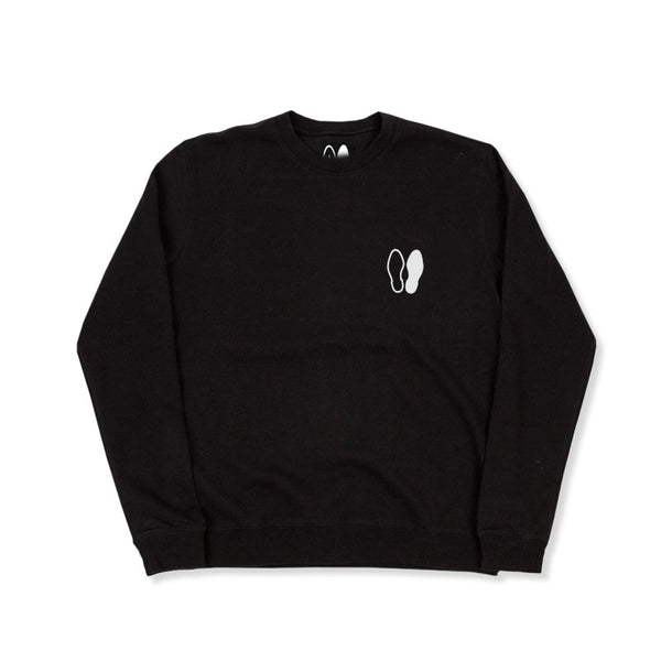 TROUBLE BLACK SWEATSHIRT