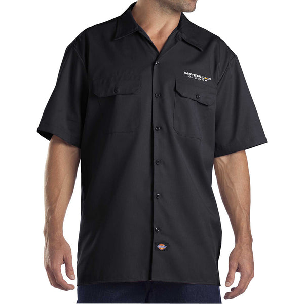 Dickies Mens Button Down Work Shirt