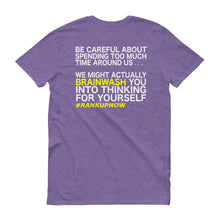 Rank Up Now 1st Edition - ( Be Careful Back Logo ) Short-Sleeve T-Shirt