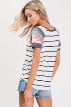 Stripped Aztec Top