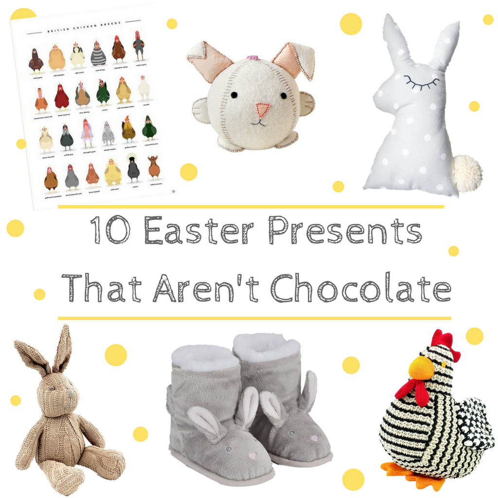10 Easter Presents That Aren't Chocolate