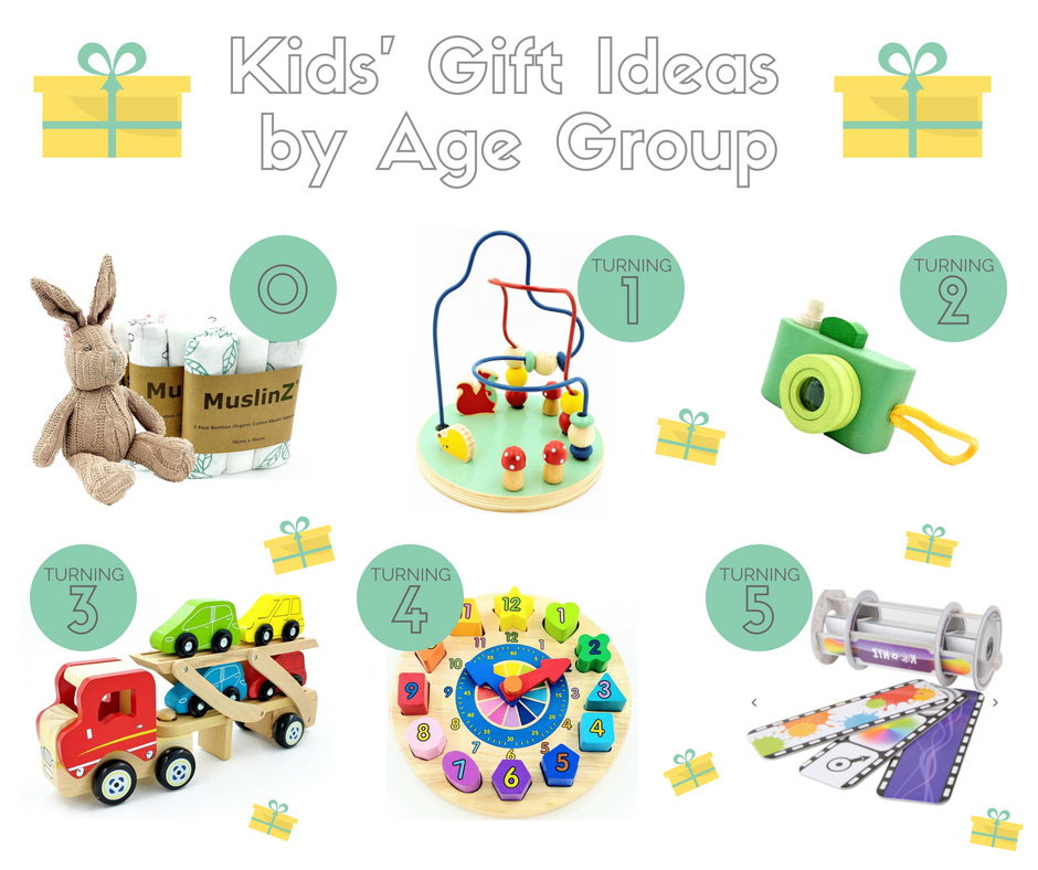 Kids' Gift Ideas by Age Group
