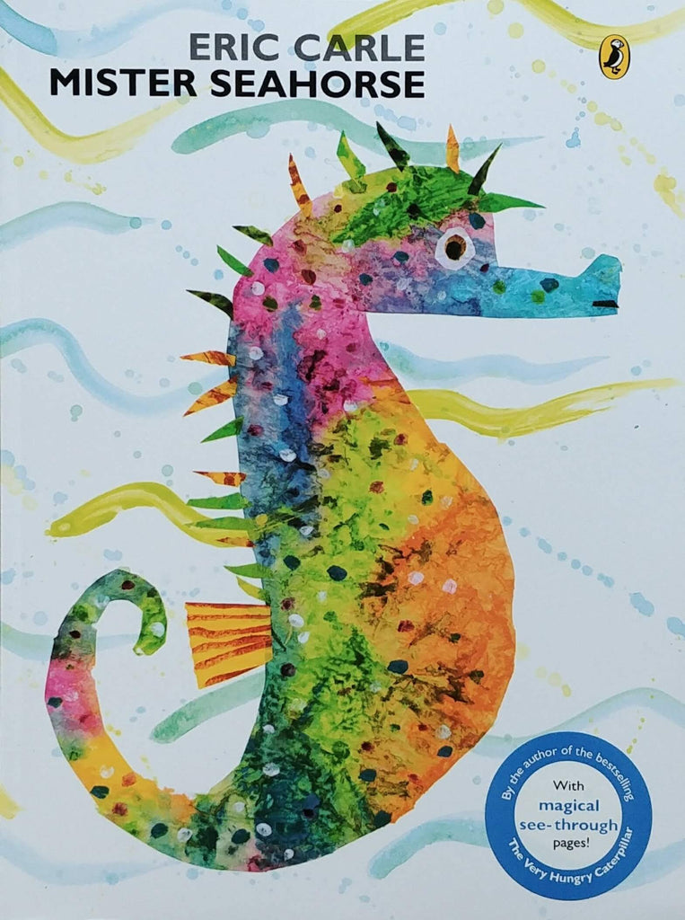 Mister Seahorse by Eric Carle front cover