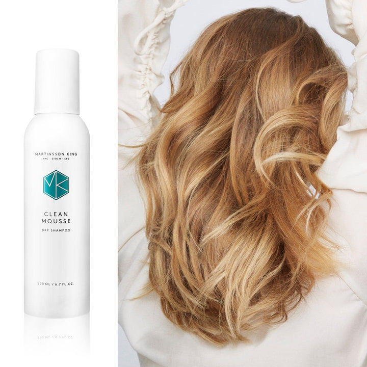 Clean Mousse dry shampoo