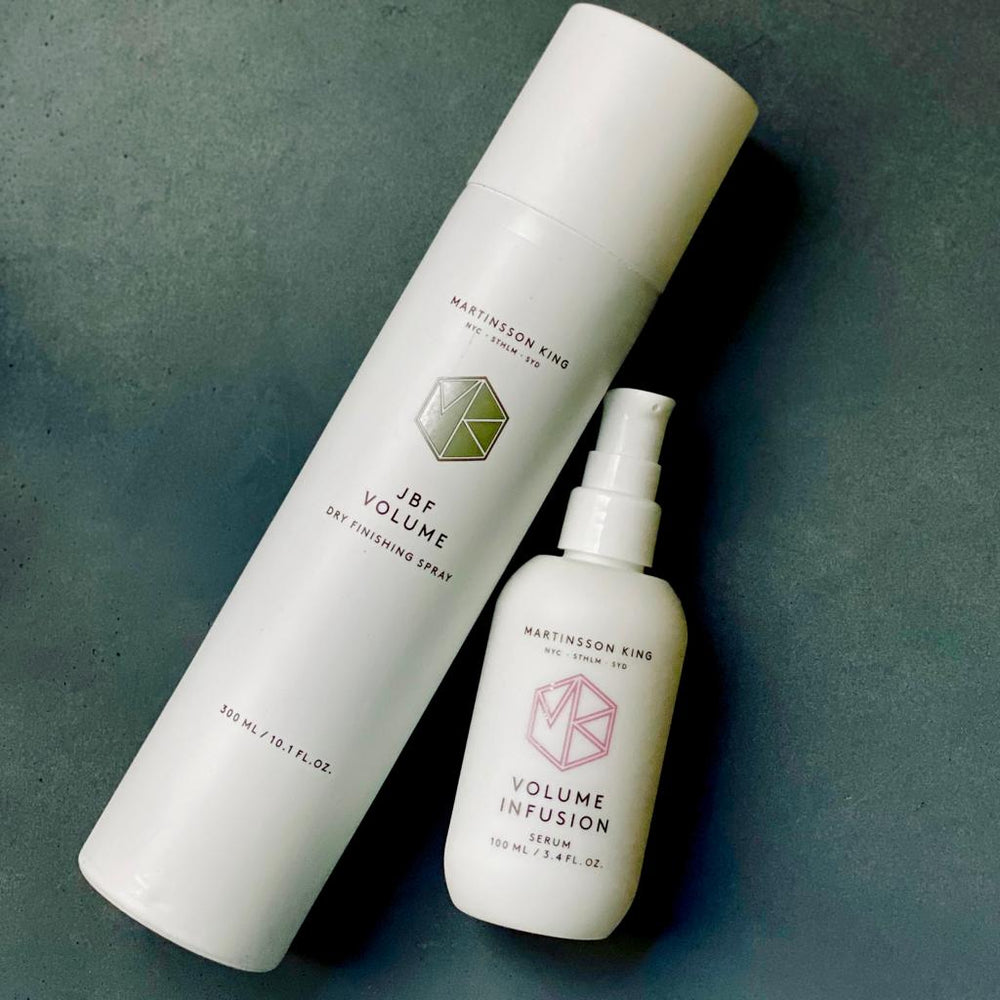 Volume Infusion serum (100 ml) & JBF Volume spray (300 ml) combo serum & spray MARTINSSON KING