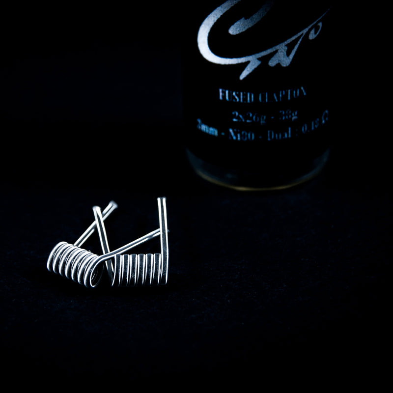 Fused Claptons 28G-38G 6 Wraps (4475433353271)