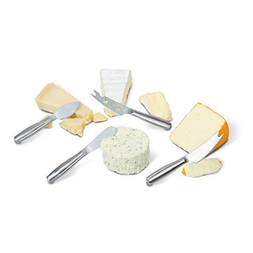 BOSKA 357610 Copenhagen Mini Knife Set Cheese Knives, Stainless
