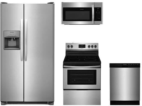 Frigidaire 4-Piece Kitchen Appliance Package with FFSS2615TS 36