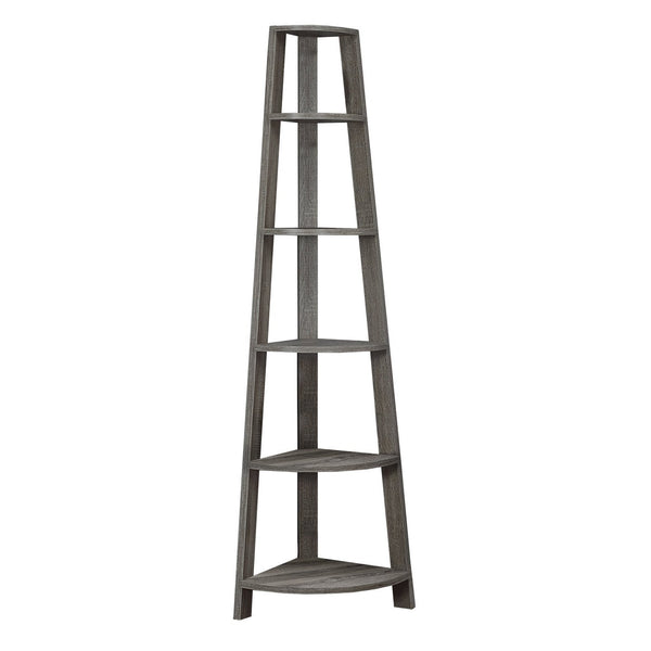Monarch Specialties Corner Accent Etagere, 72