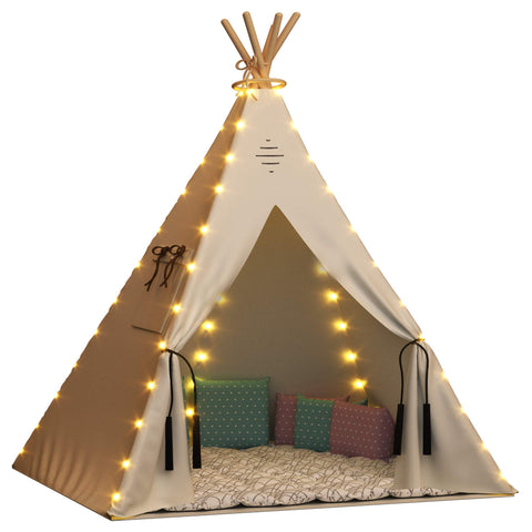 Nature's Blossom Fairy Lights for Kids Teepee Tents, Battery Operated. Set of 5 LED Strings. Universal Design Fits Most Kids Indoor Tipi Playhouses. Teepee Tent is Not Included with The Light Set.