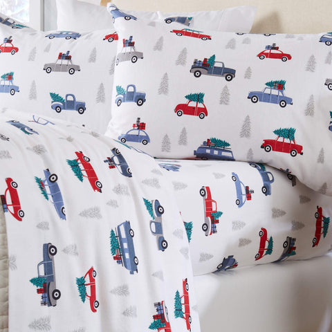 Minecraft Twin 3 Piece Flannel Sheets Franco
