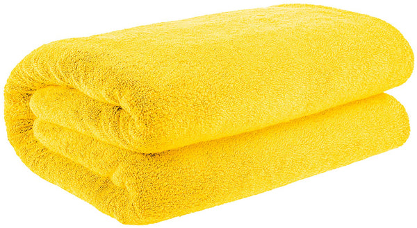 40x80 Inches Jumbo Size, Thick and Large 650 GSM Bath Sheet Cotton, Luxury Hotel & Spa Quality, Absorbent and Soft Decorative Kitchen and Bathroom Turkish Towels, Yellow